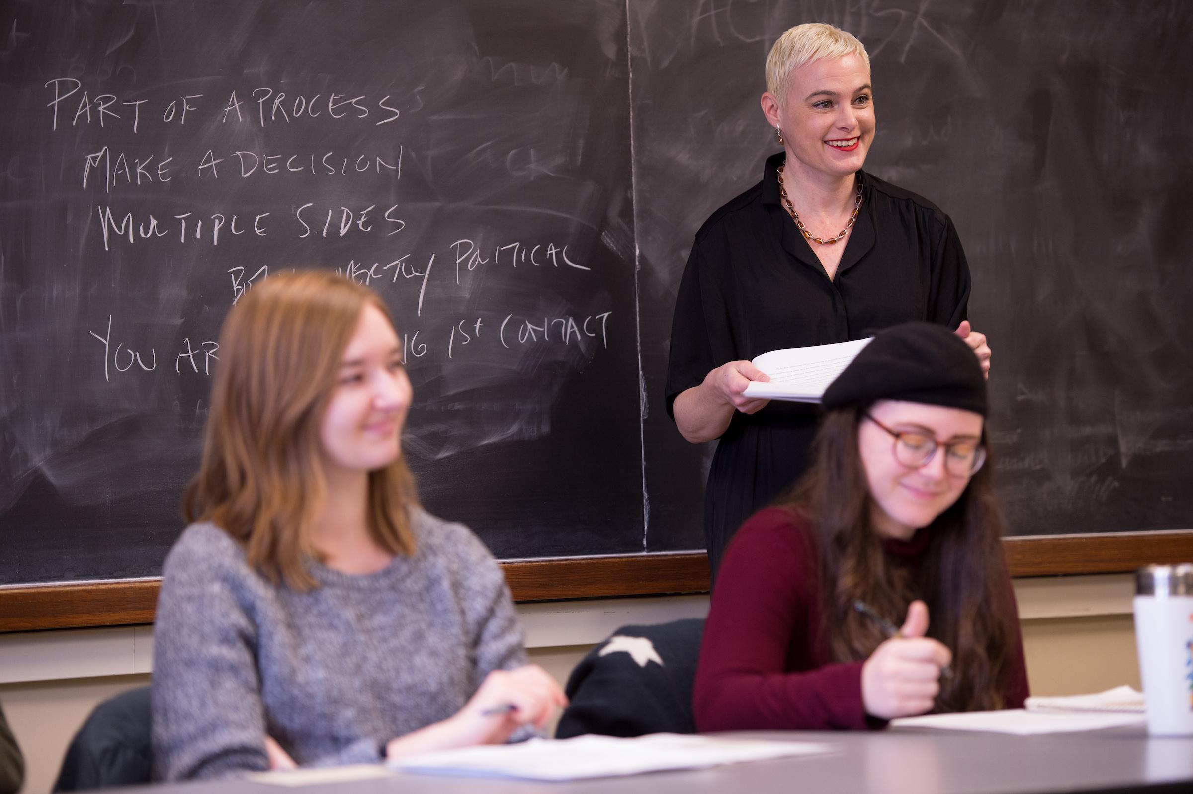 Inara Verzemnieks teaching