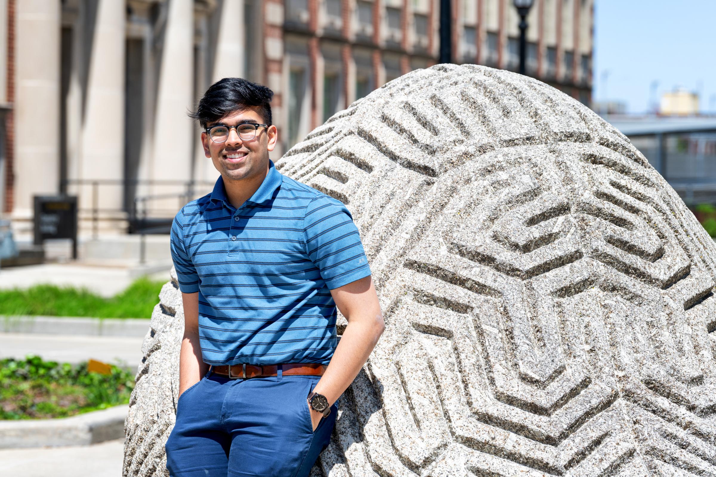 University of Iowa student Suraj Rao