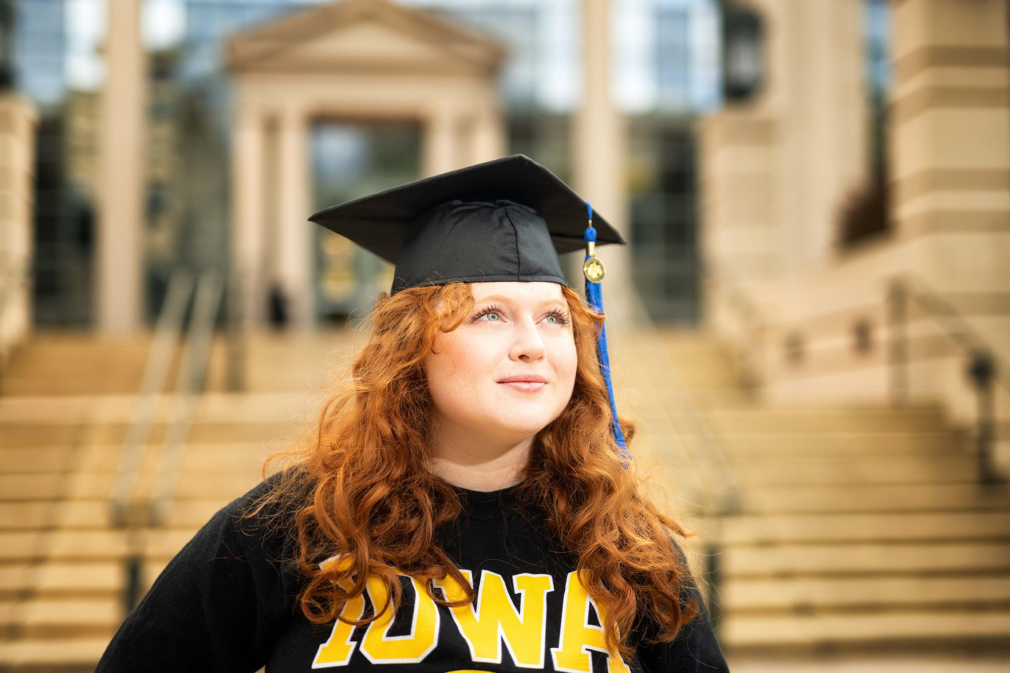 University of Iowa fall 2020 graduate Isabella Volfson