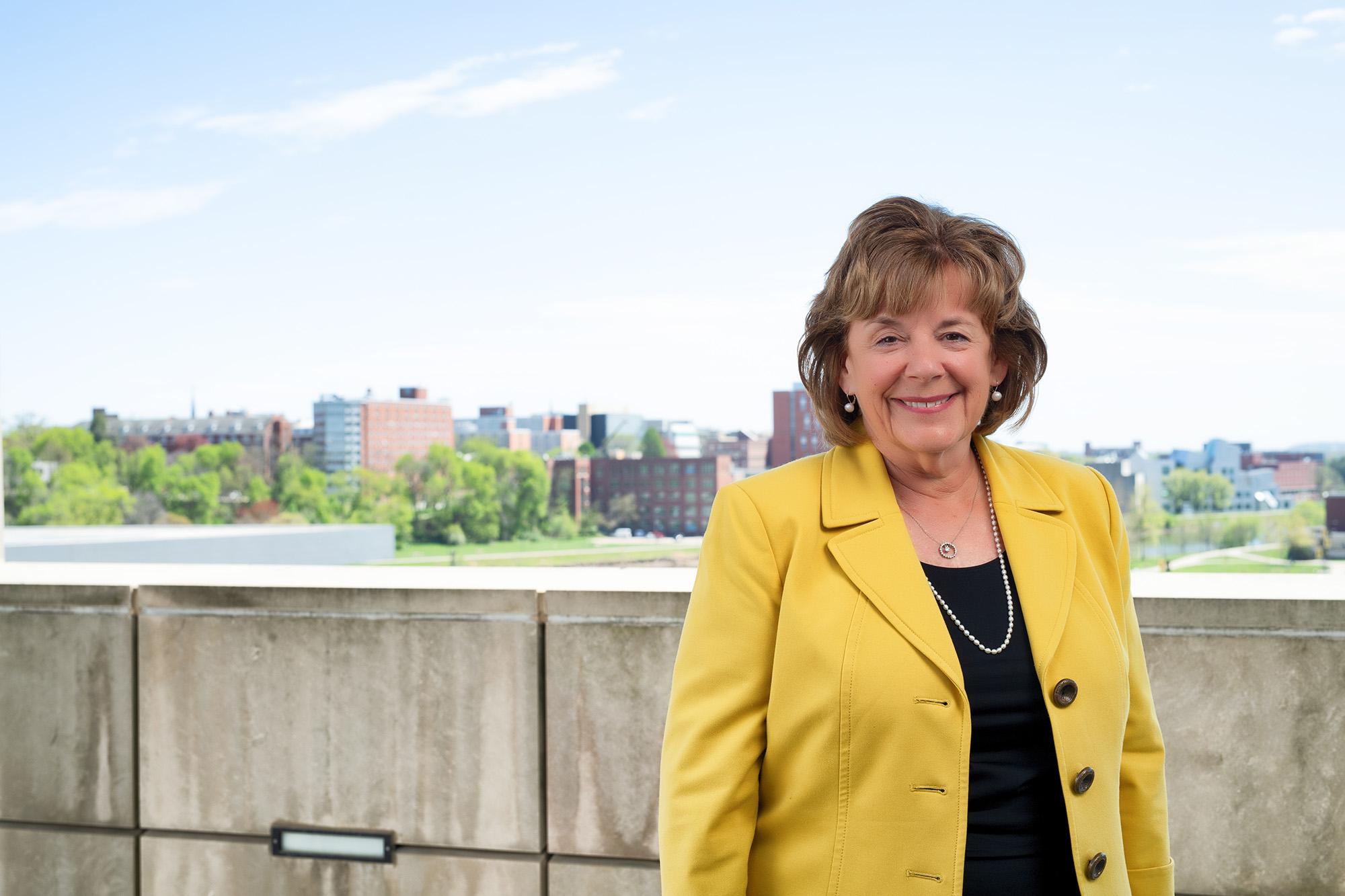 Barbara Wilson, 22nd president of the University of Iowa