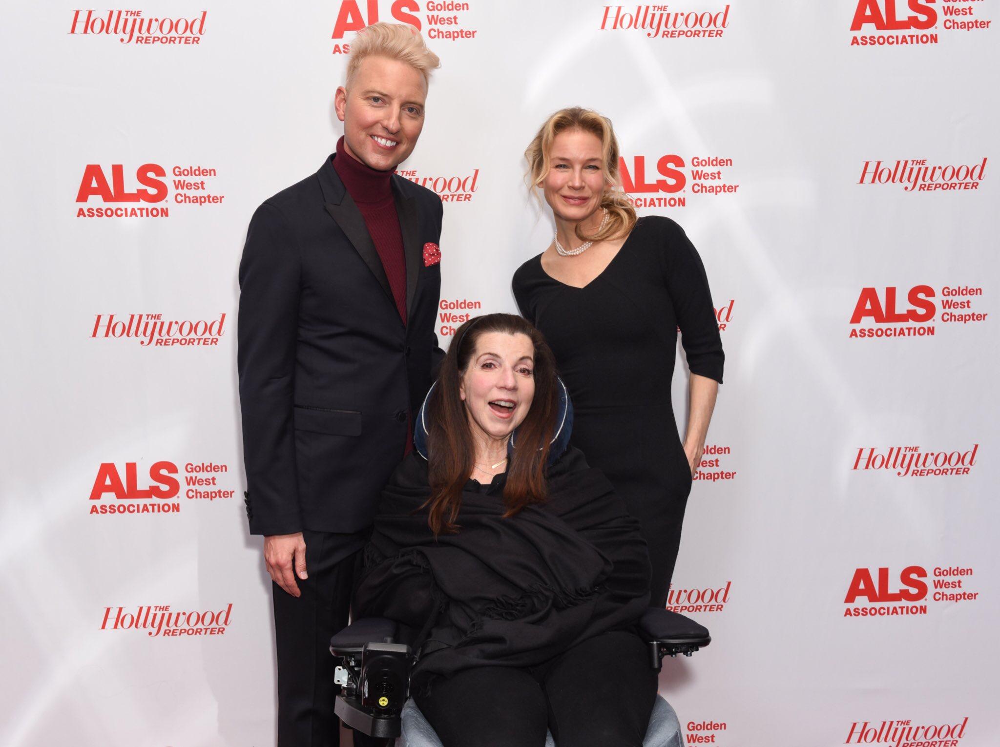 Chris Gardner with Nanci Ryder and Renée Zellweger