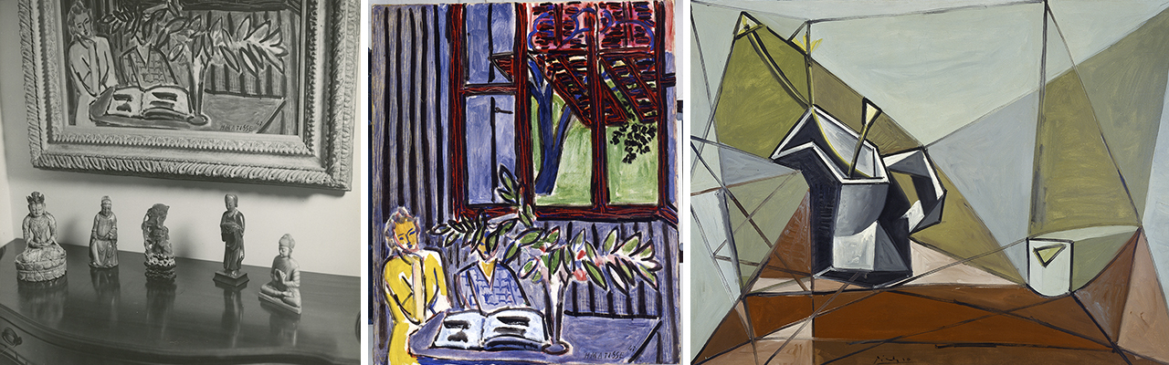 jade, a matisse, and a picasso in the Elliott Collection