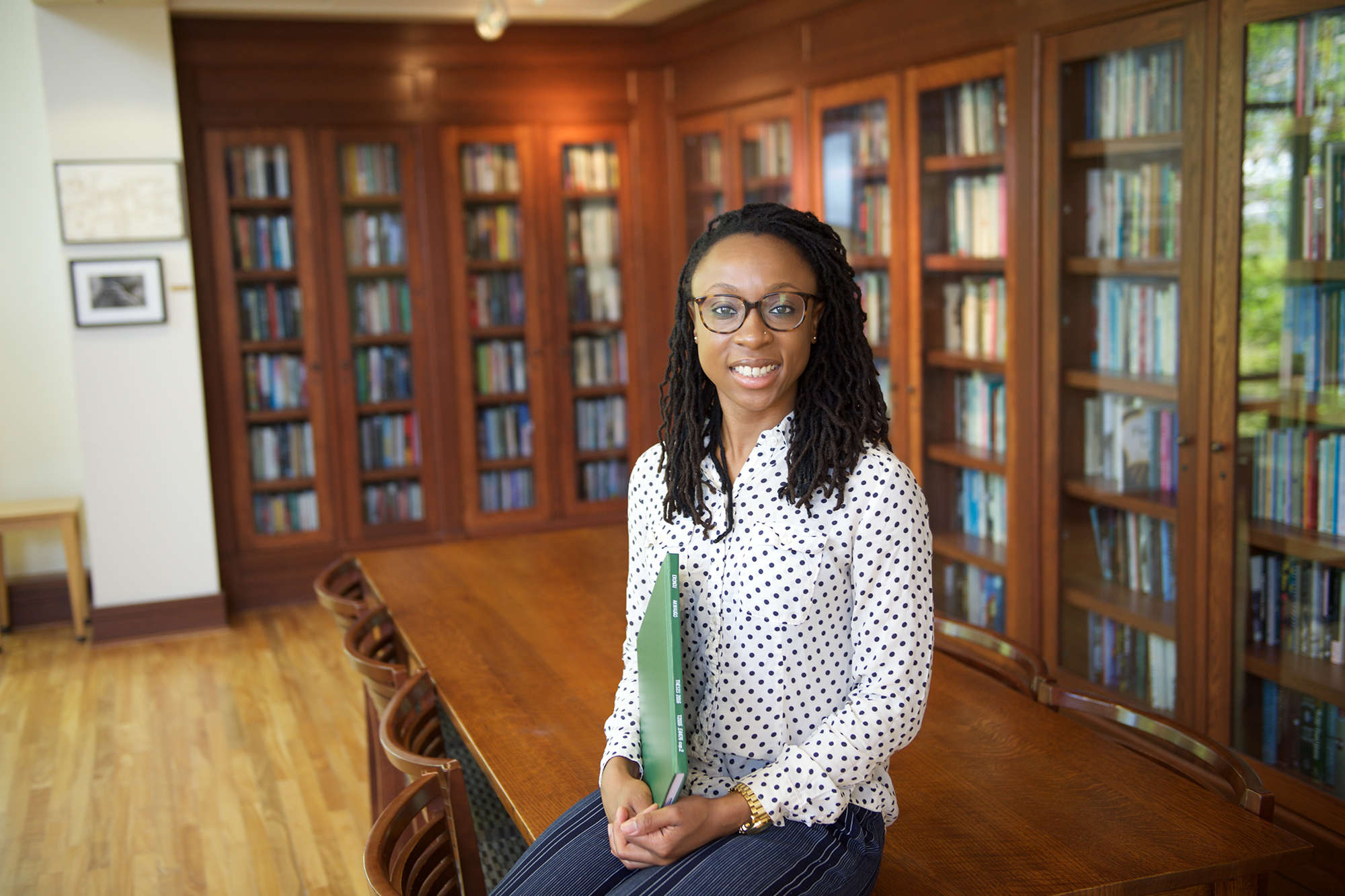 Mgbechi Erondu, a graduate of the University of Iowa Carver College of Medicine and an anesthesiology resident at Baylor College of Medicine