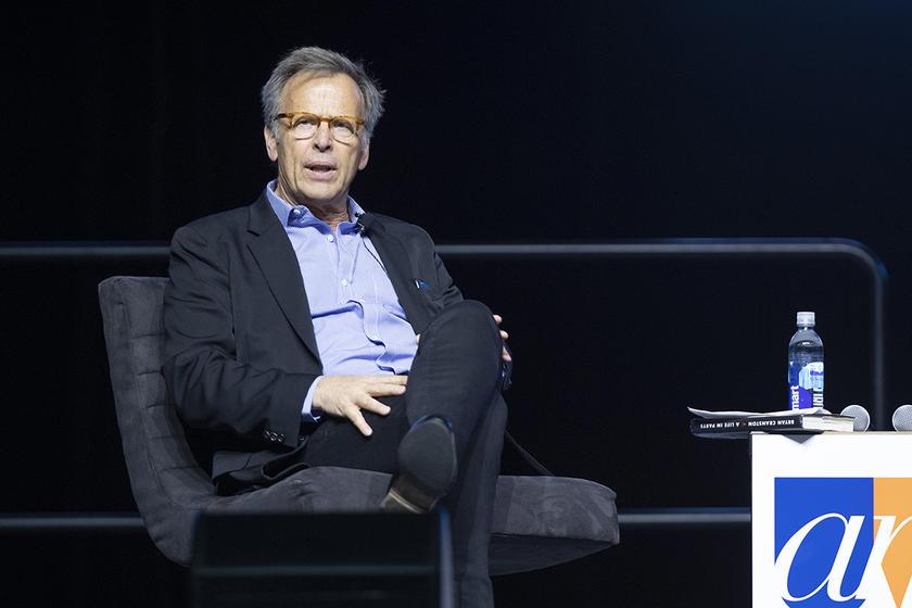 University of Iowa alumnus Mark Johnson, an Academy Award-winning producer