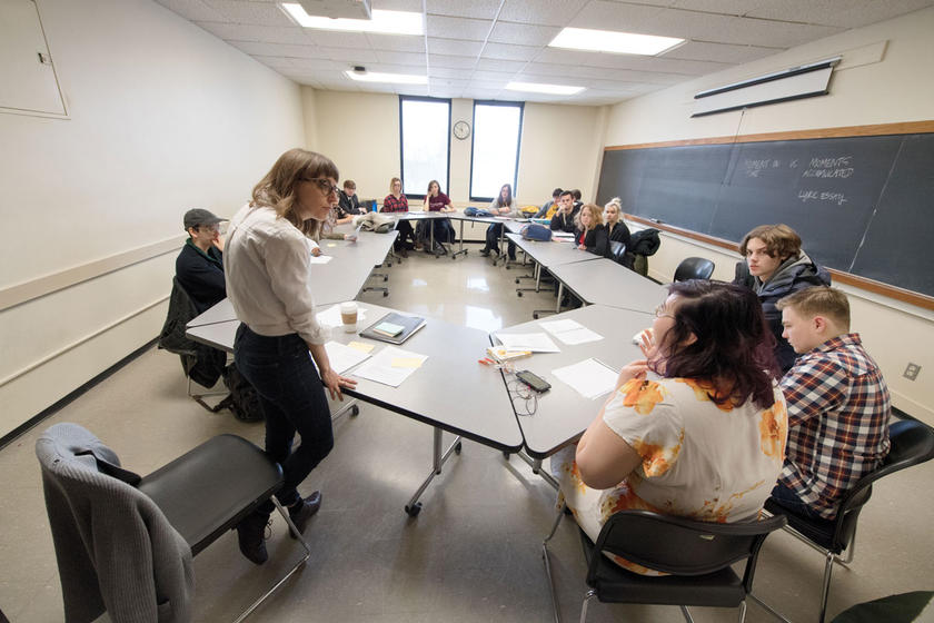 Undergraduate writing class