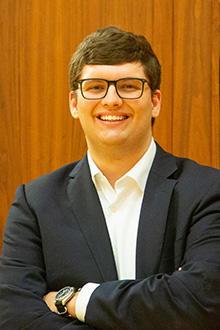 University of Iowa finance major Adam Burghduff