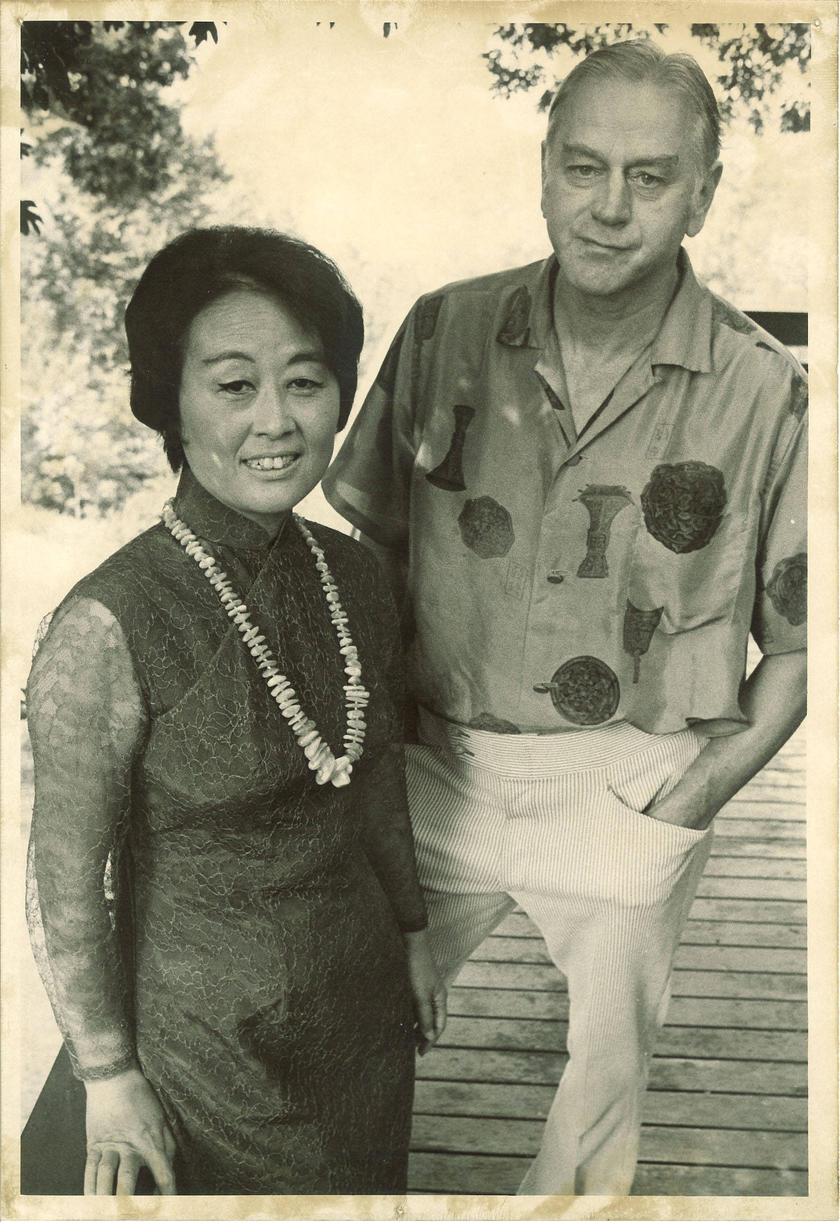 Paul Engle and his wife Hauling Nieh Engle