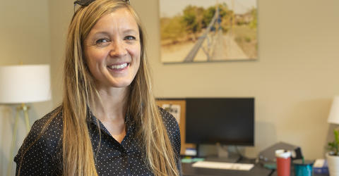 University of Iowa alumna Avery Bang is the CEO of Bridges to Prosperity