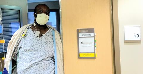 Marcus Jones at UI Hospitals and Clinics