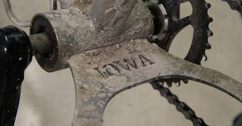 detail of bicycle
