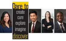 collage of some of the University of Iowa Dare to Discover research students