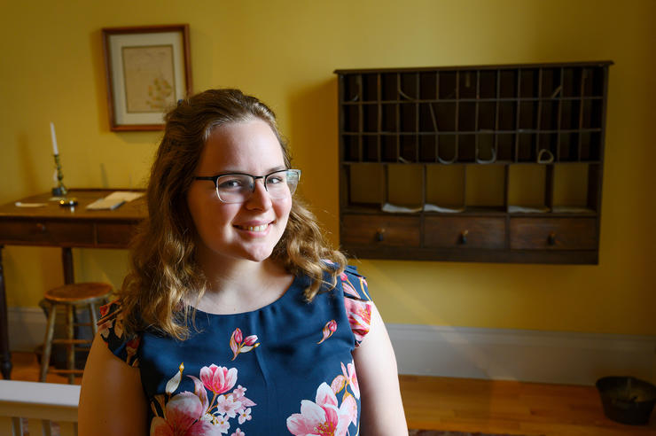 emily lefeber worked at the smithsonian as an intern