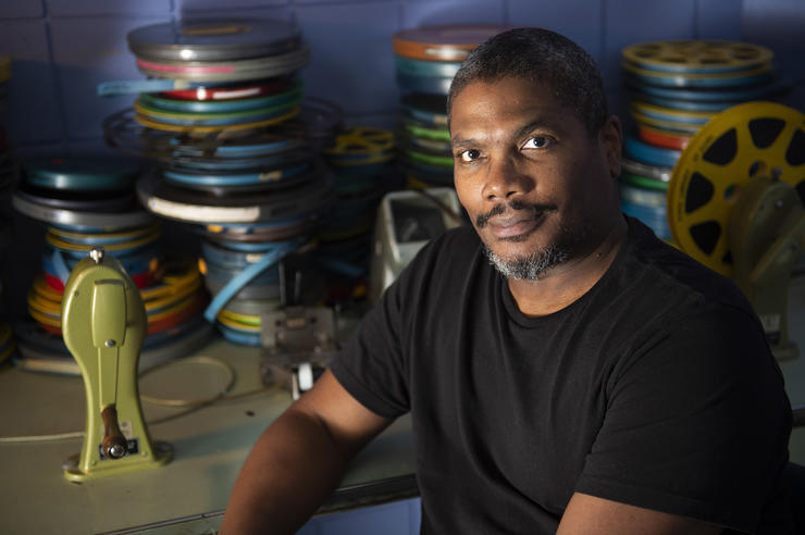 university of iowa cinematic arts faculty member Christopher Harris