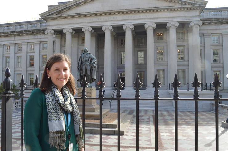 University of Iowa alumna Beth Redfearn in Washington DC