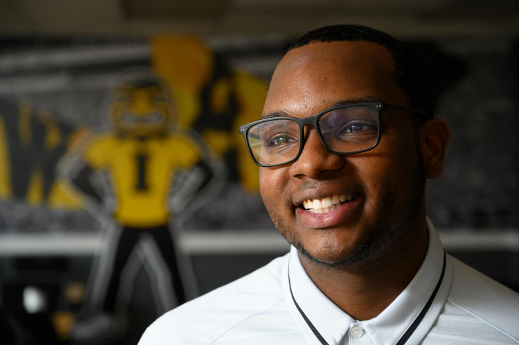 University of Iowa fall 2019 graduate Caleb Smith