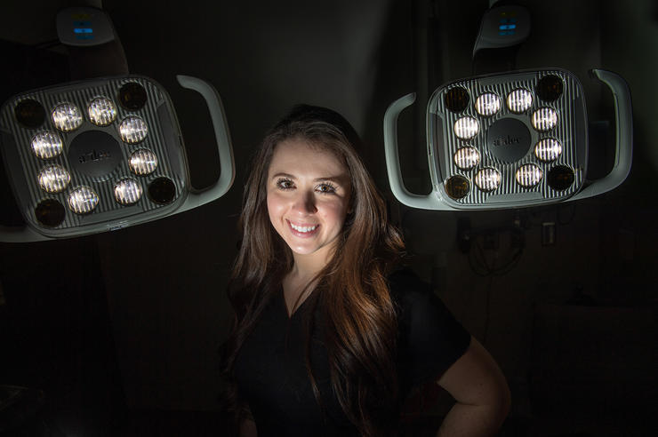 University of Iowa College of Dentistry student Briar Voy