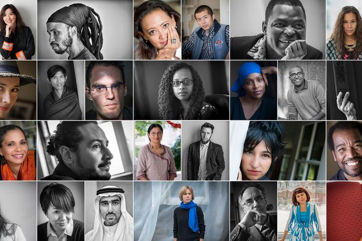 Collage of IWP portraits