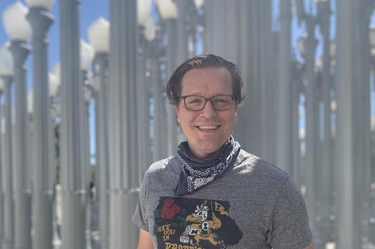 University of Iowa graduate Michael Wiebler
