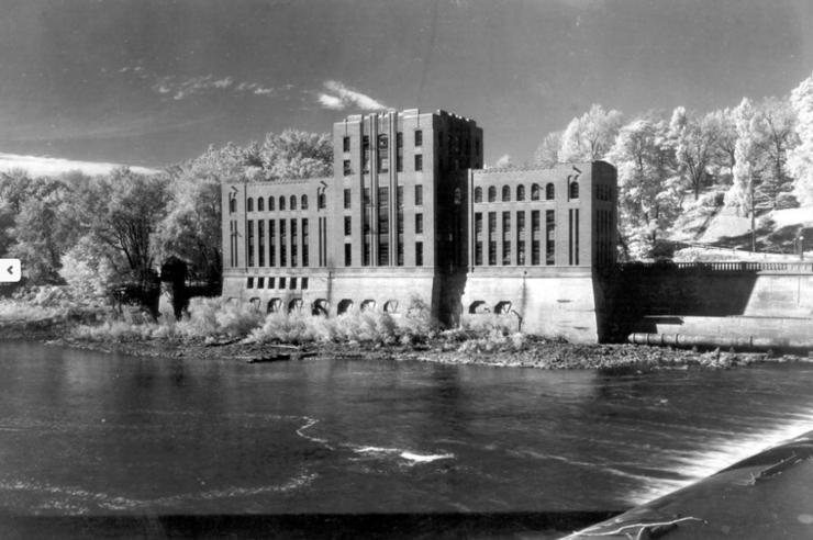 hydraulics lab, in 1932