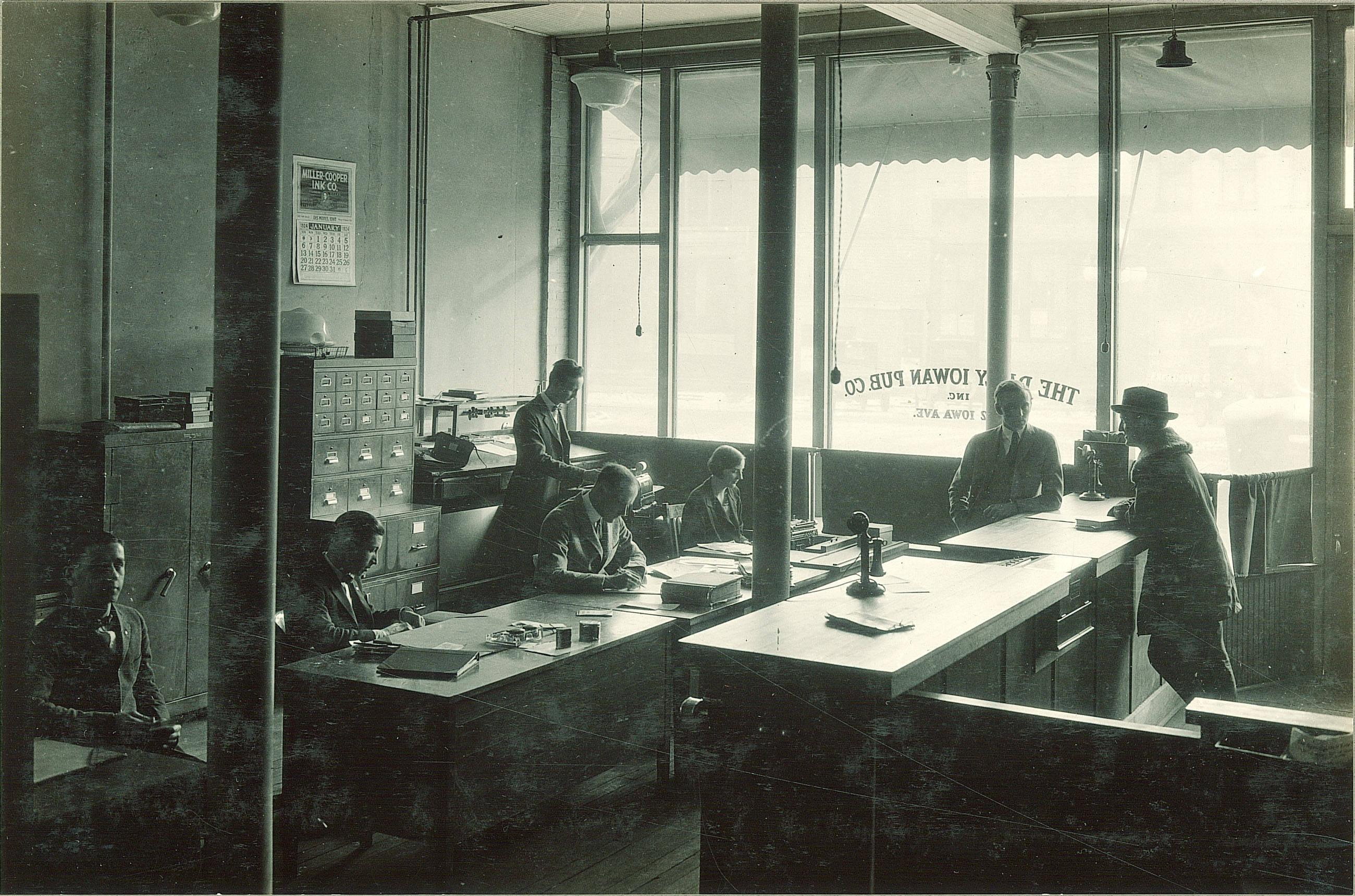 Daily Iowan Newspaper Office