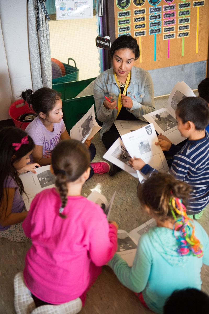 Isemenia Castelan student teaching