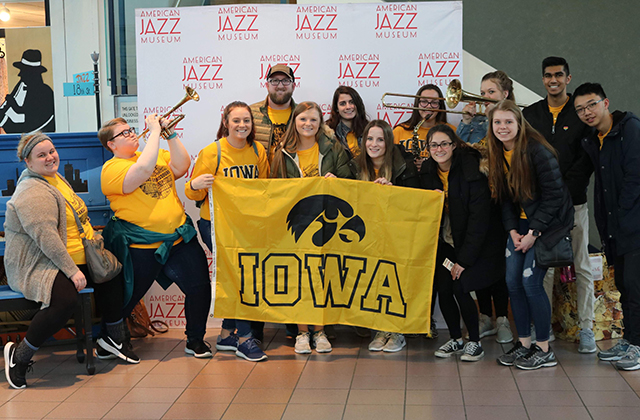 University of Iowa students participate in an Alternative Spring Break project in Kansas City